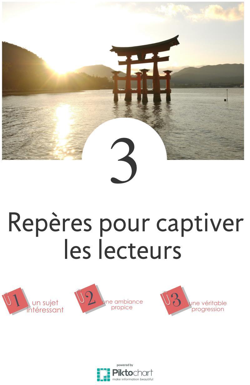 3 repères pour captiver les lecteurs